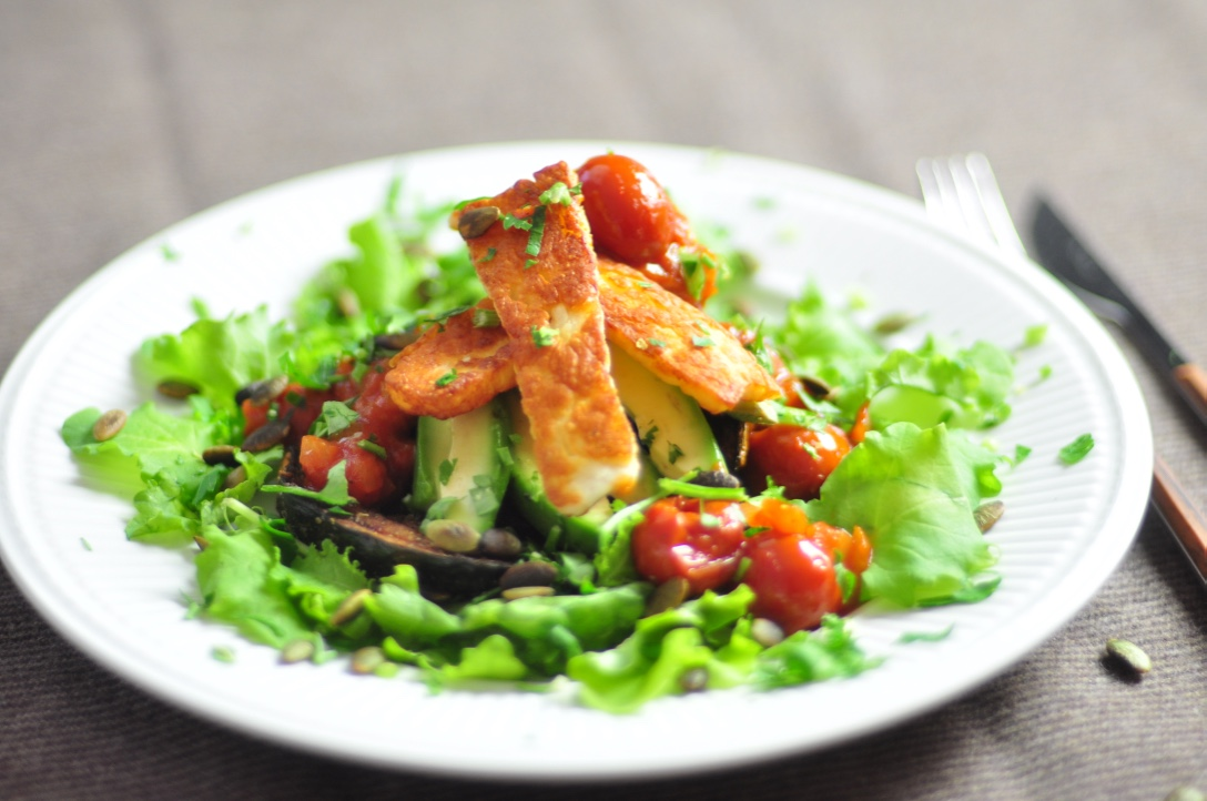 Halloumi_and_vegetables